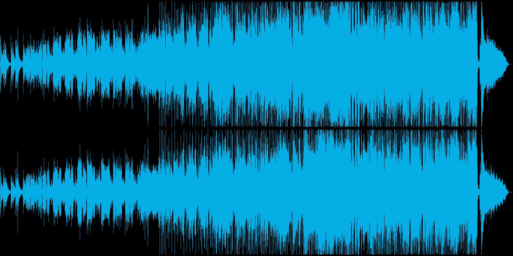 ゴスペルなイントロのミディアムバラードの再生済みの波形
