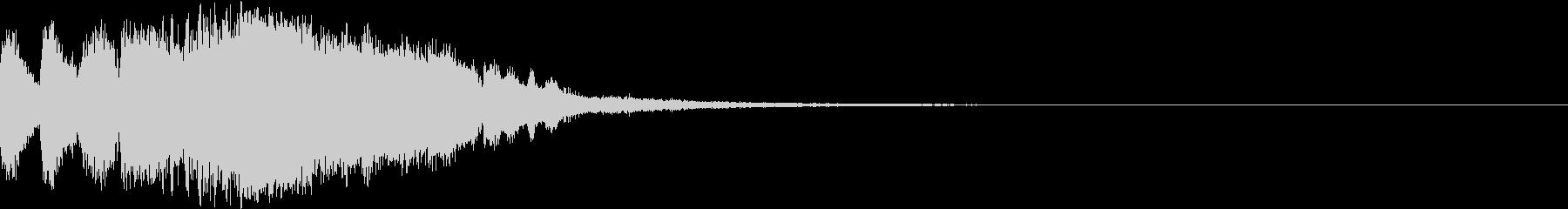 ファンファーレ シンプル 正解合格 16の未再生の波形