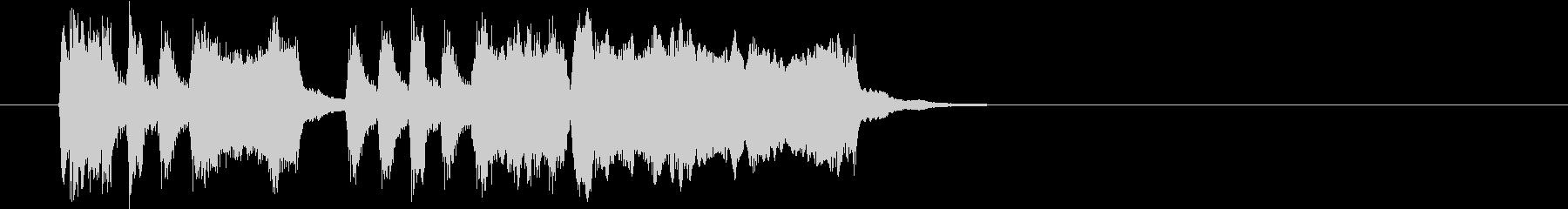 Tpファンファーレ 重厚め遅め弾みめの未再生の波形