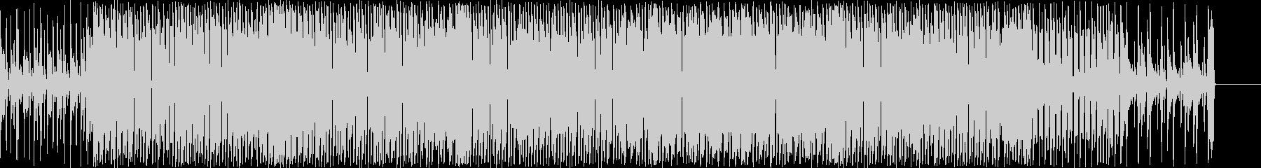 オシャレなコードが印象的なポップスの未再生の波形