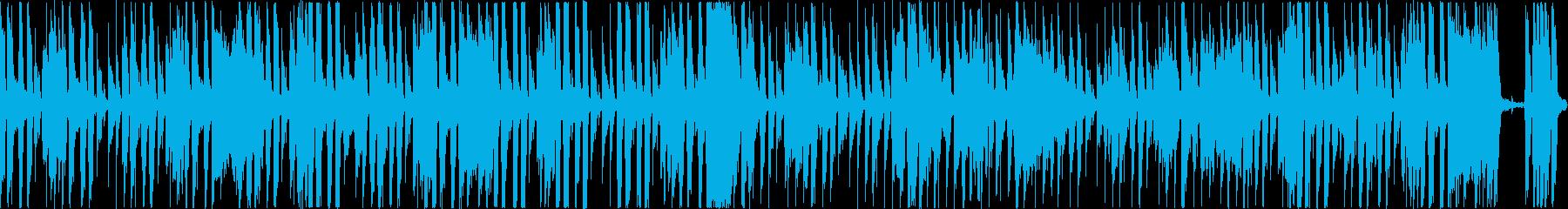 ぎこちない感じのファンキーなジャズの再生済みの波形
