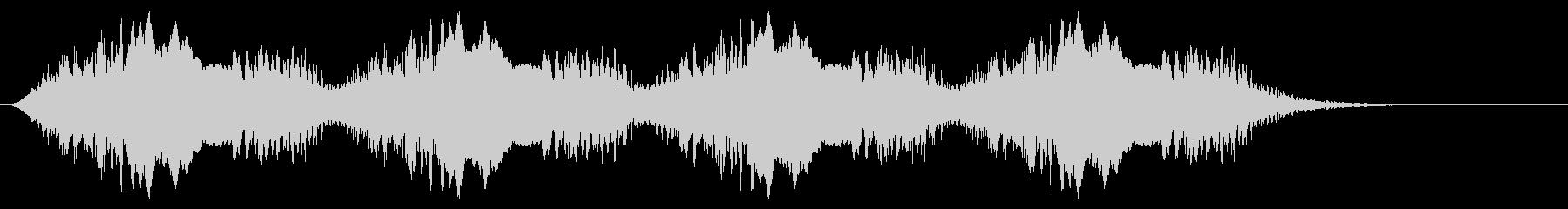 警告音 サイレン02-08(リバーブ 遅の未再生の波形