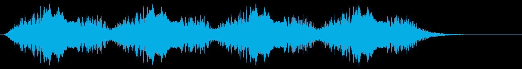 警告音 サイレン02-08(リバーブ 遅の再生済みの波形