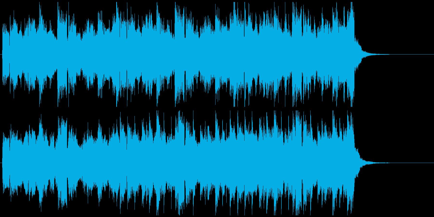 爽やかギタージングル 感動おしゃれピアノの再生済みの波形