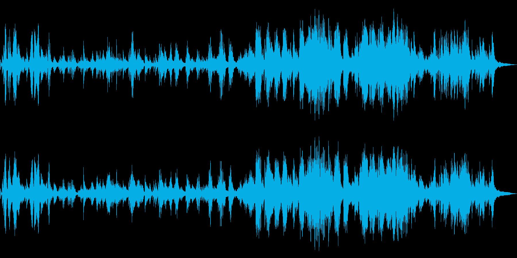 しっとりした和風 ピアノソロの再生済みの波形