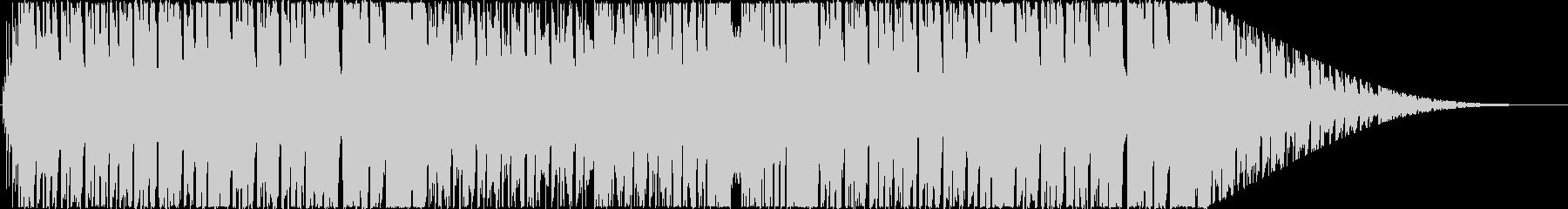 日常系ほのぼの、ブラス&オルガン曲の未再生の波形