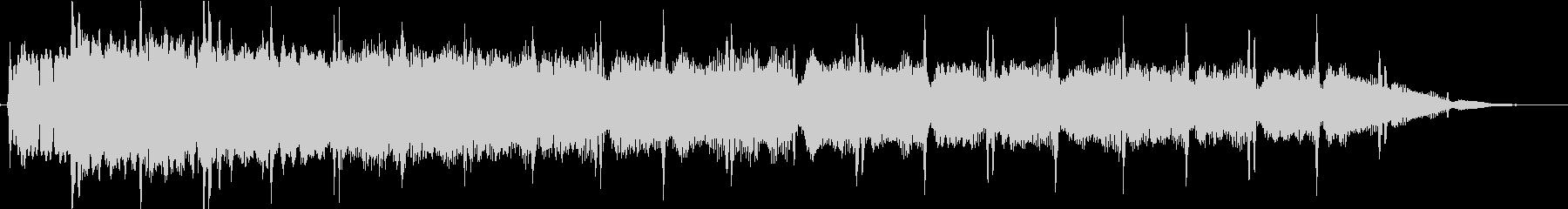 ピューン:異次元へワープする音5の未再生の波形