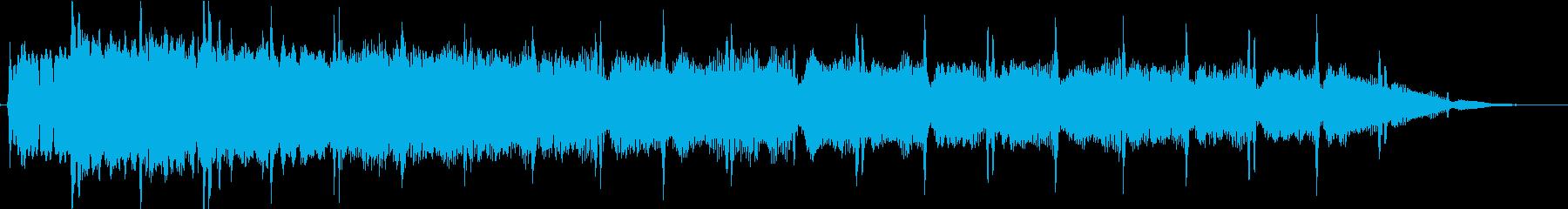 ピューン:異次元へワープする音5の再生済みの波形