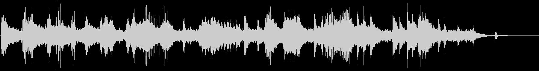 メロディアスで和風なクラシカルピアノ曲の未再生の波形