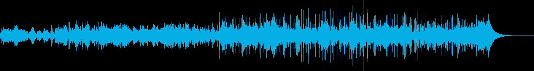 マリンバと打楽器による陽気な踊りの再生済みの波形