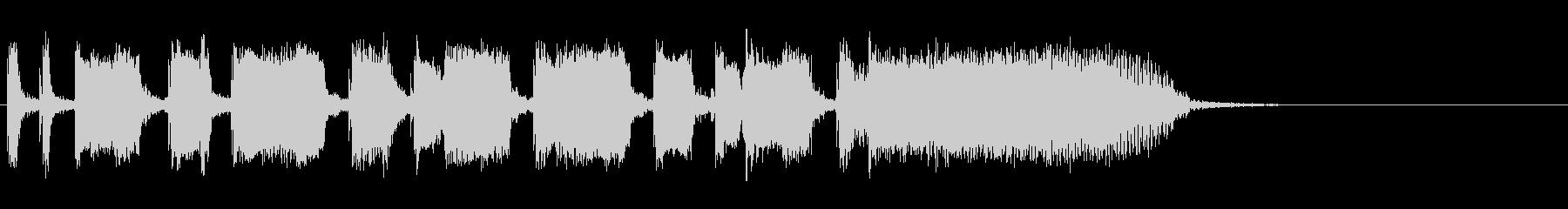 Guitarジングル1/カッティングの未再生の波形