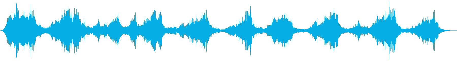 後方への会話は、エアリーエフェクト...の再生済みの波形