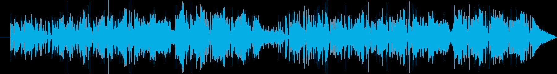 バイオリンがメロディでテンポは速いですの再生済みの波形