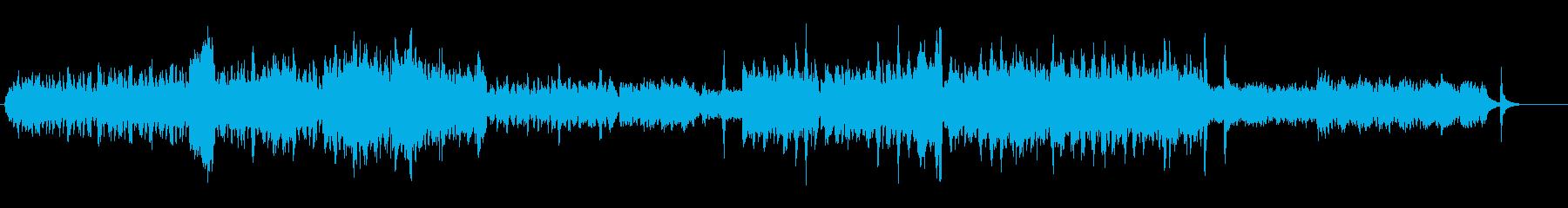 ワルツに、レースがクルクル回るイメージの再生済みの波形