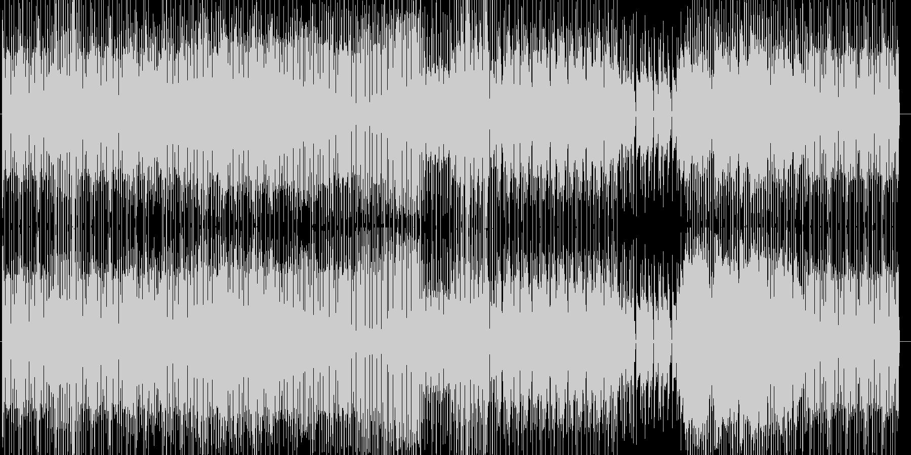 リズム感の良いダンス曲です。の未再生の波形