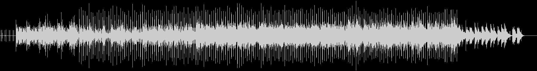 ピアノを使ったオシャレなエレクトロニカの未再生の波形