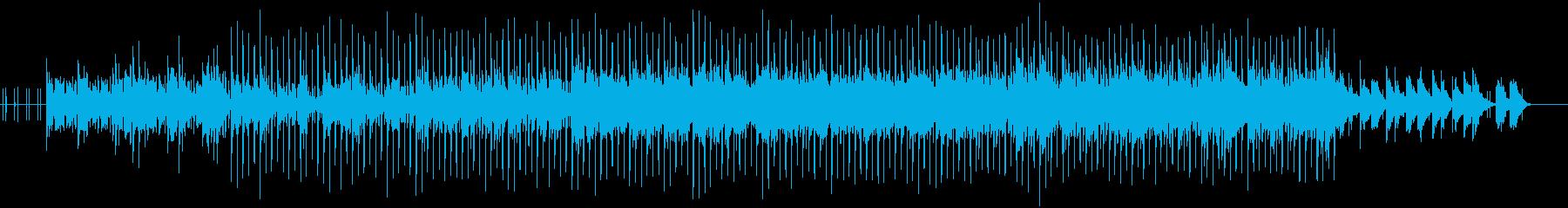 ピアノを使ったオシャレなエレクトロニカの再生済みの波形