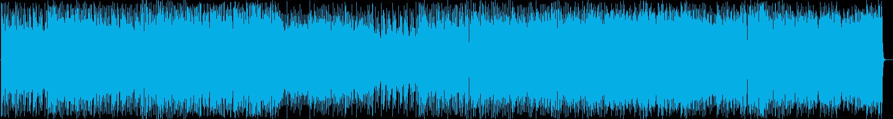 ヘヴィロック アクション 静か a...の再生済みの波形