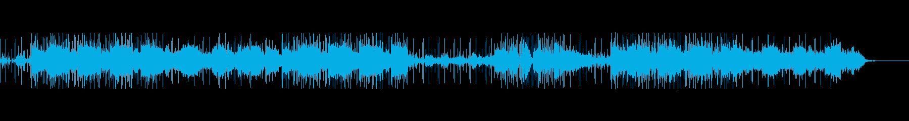 16ビートピアノポップス春そよ風メロなしの再生済みの波形