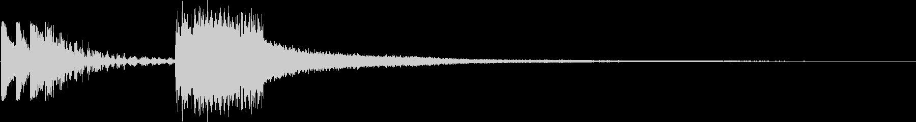 KANTロックバンドジングル1の未再生の波形