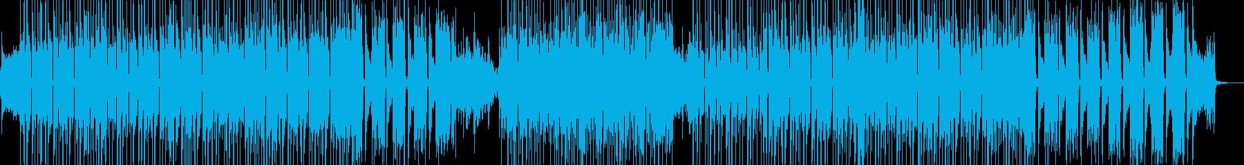 琴・三味線 渋くてクールなビート 長尺★の再生済みの波形