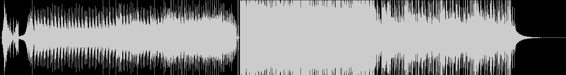 キラキラの未再生の波形