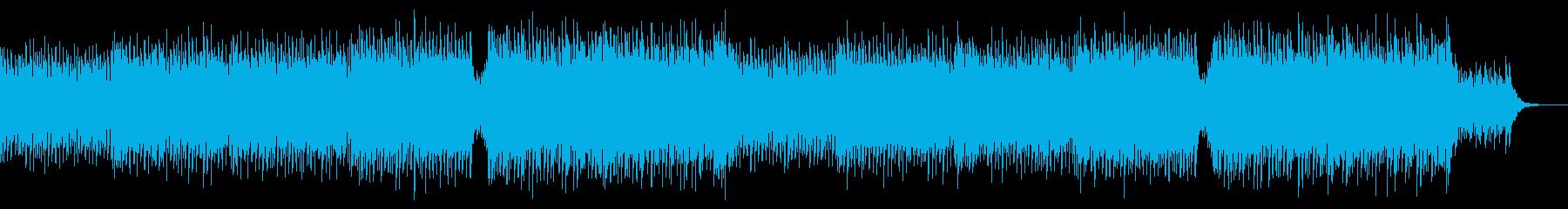 アップテンポで爽快なコーポレート系BGMの再生済みの波形