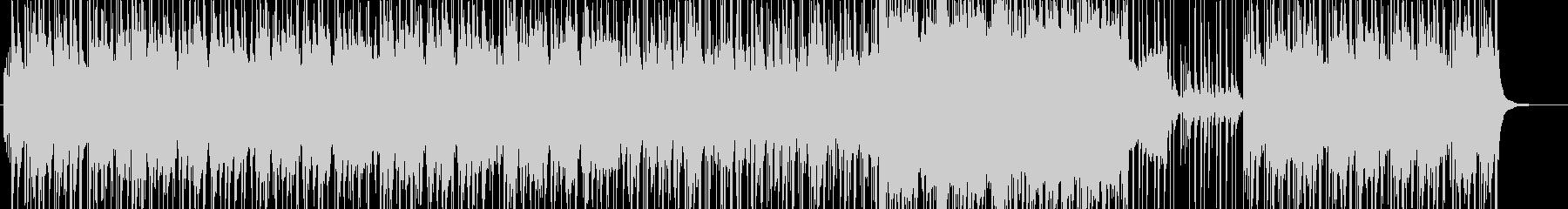 雑魚的とのエンカウントソングの未再生の波形