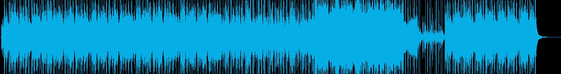 雑魚的とのエンカウントソングの再生済みの波形