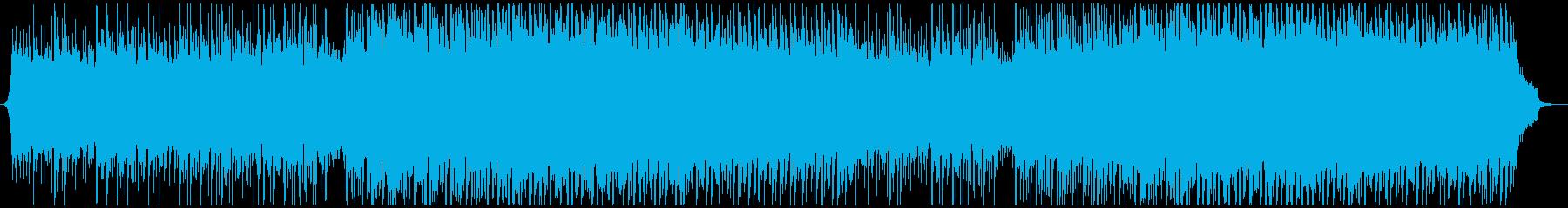 企業VP プレゼンなどの企業VPにの再生済みの波形