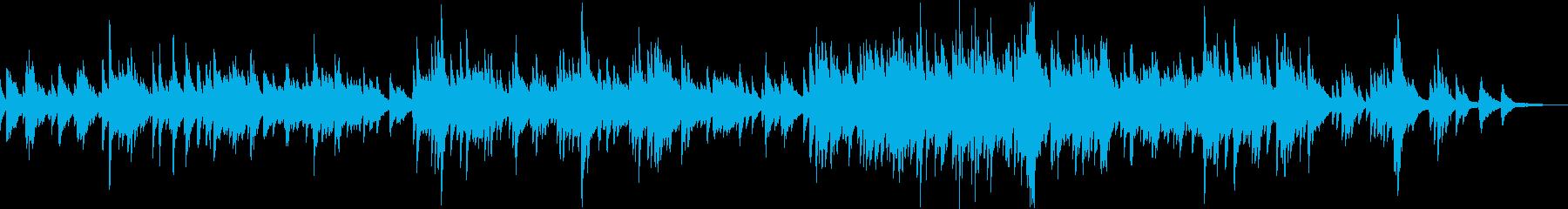 安らぎの光(ピアノ・バラード・優しい)の再生済みの波形