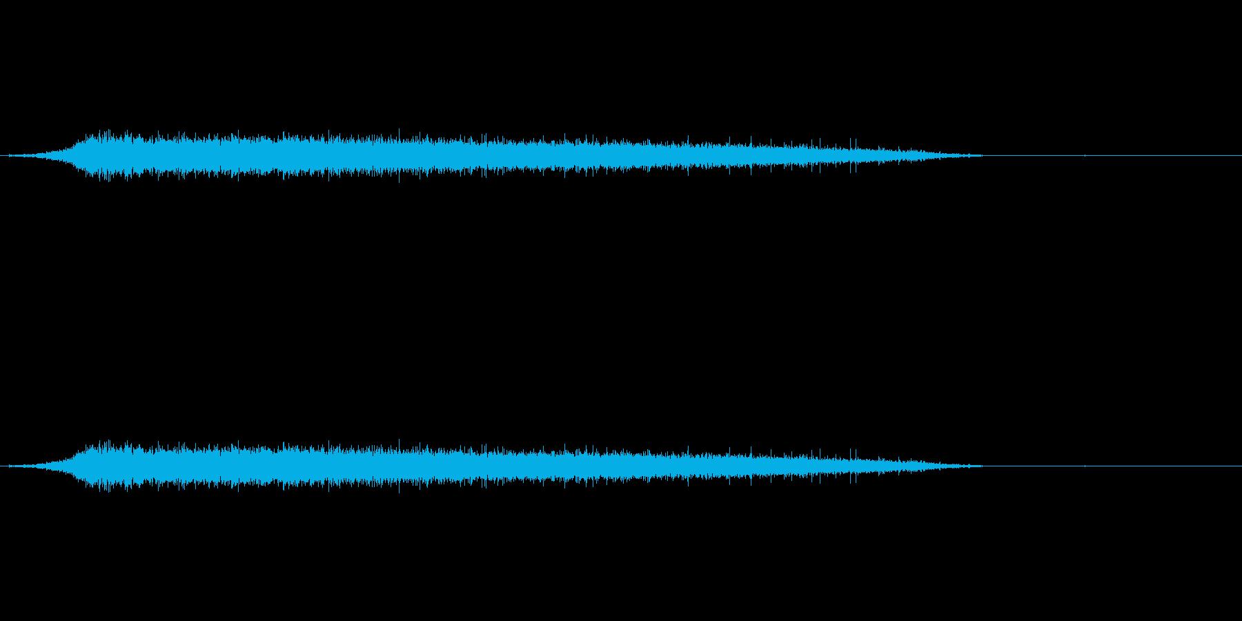 ブルズ観客3 2の再生済みの波形