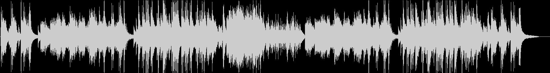 温泉をイメージしたピアノソロインストの未再生の波形