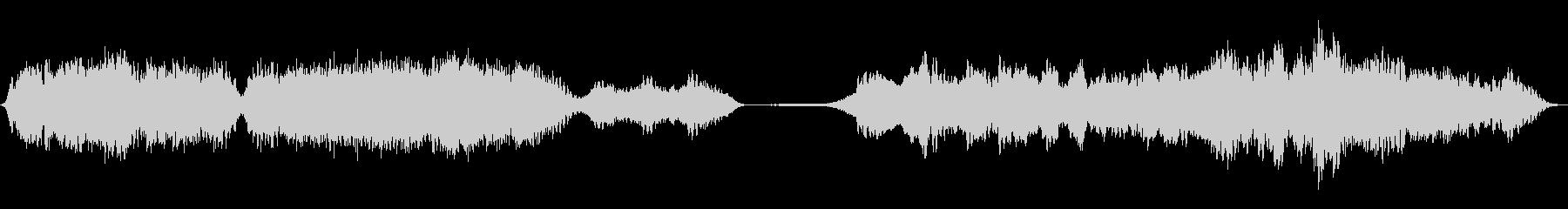 ハウリングモンスター、SCI FI...の未再生の波形