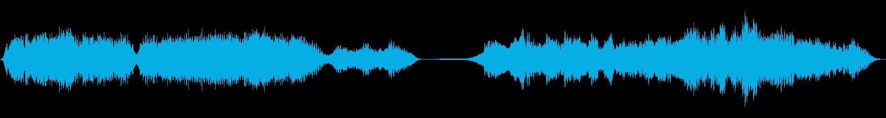 ハウリングモンスター、SCI FI...の再生済みの波形