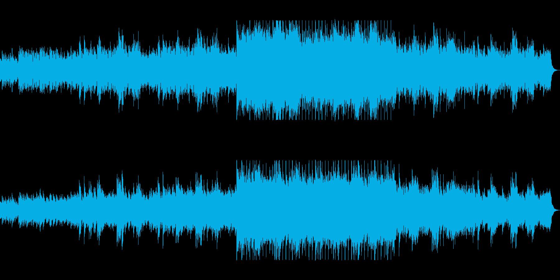 明るく爽やかギターピアノサウンドの再生済みの波形