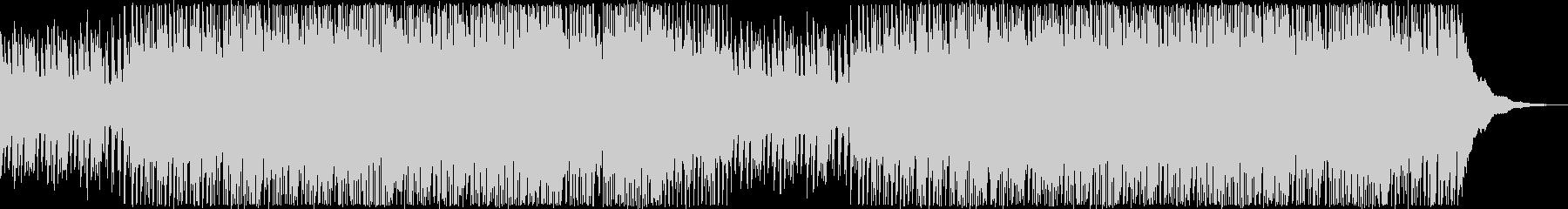 疾走感のあるアコギとピアノのポップロックの未再生の波形