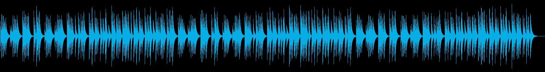 ジングルベル 18弁オルゴールの再生済みの波形