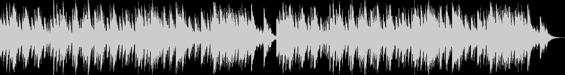 洞窟探検のBGMの未再生の波形