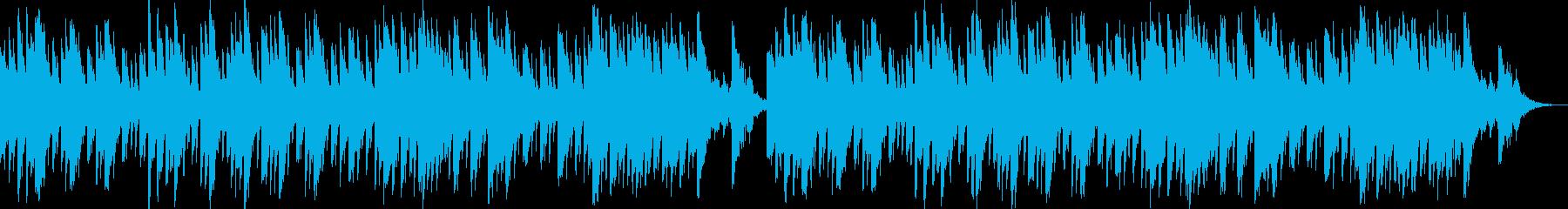 洞窟探検のBGMの再生済みの波形