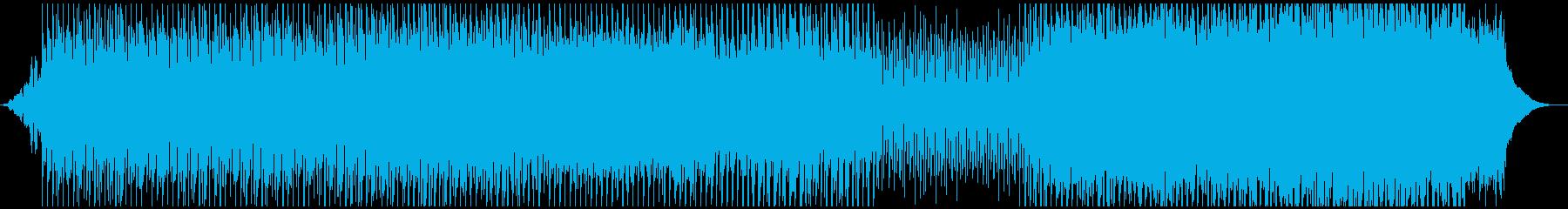 外国映画サントラ風 重低音エレクトロニカの再生済みの波形