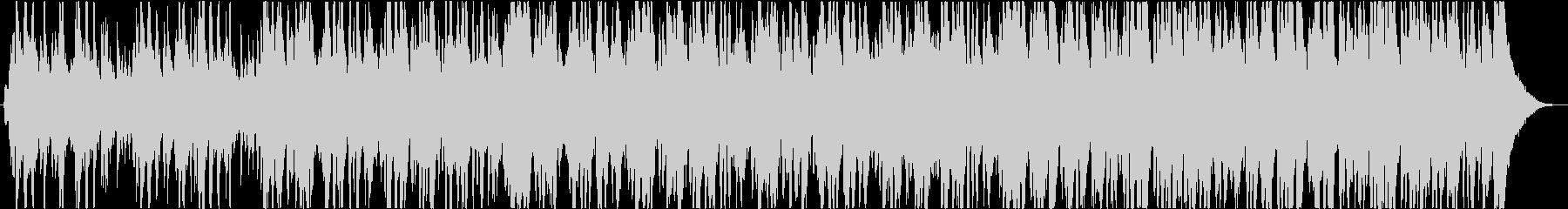 魔法のクリスマス音楽の未再生の波形