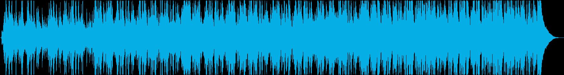 魔法のクリスマス音楽の再生済みの波形