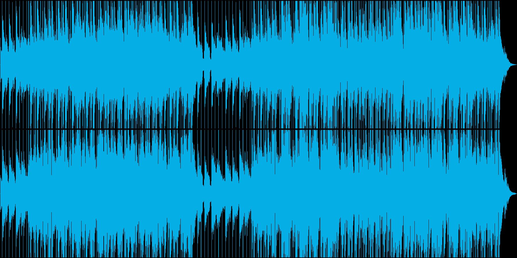 ほのぼの70'アメリカンレイドバックの再生済みの波形
