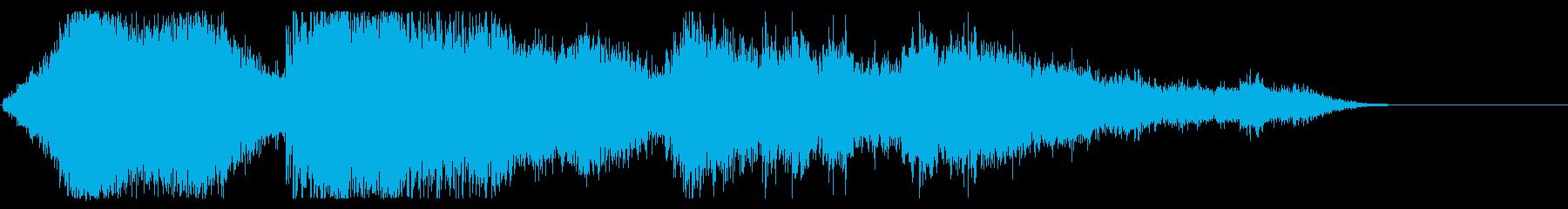 穀物のダウンロード、データサイクル...の再生済みの波形