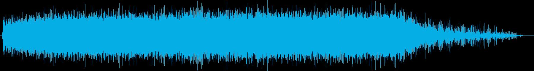 大型電動ブレンダー:起動、高速運転...の再生済みの波形