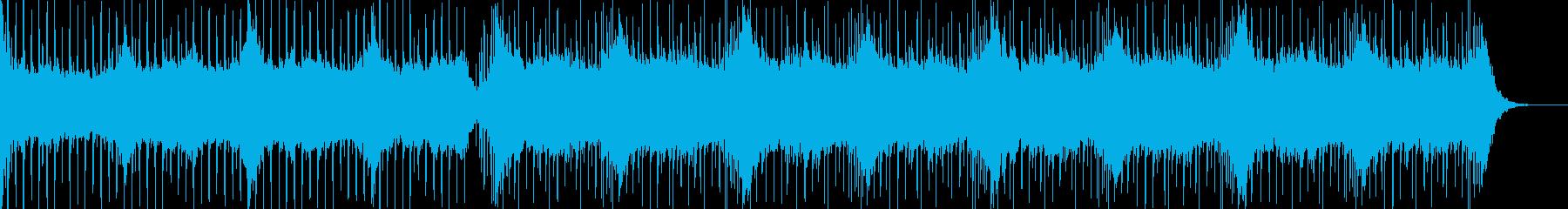 アンビエントな感じのブレイクビーツの再生済みの波形