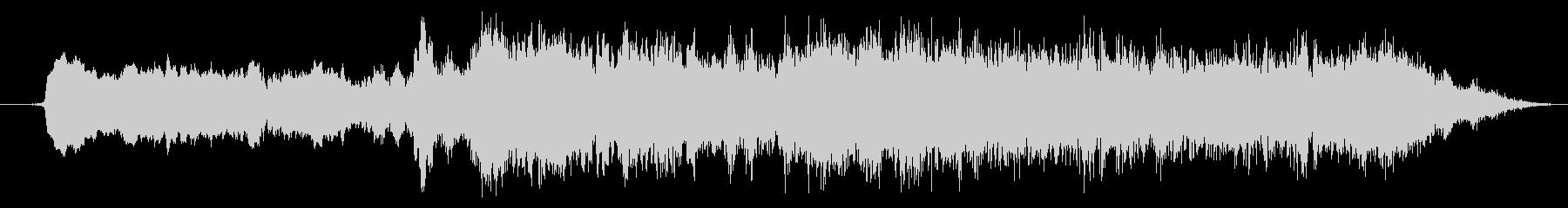 ストリングスのホラー系SEの未再生の波形