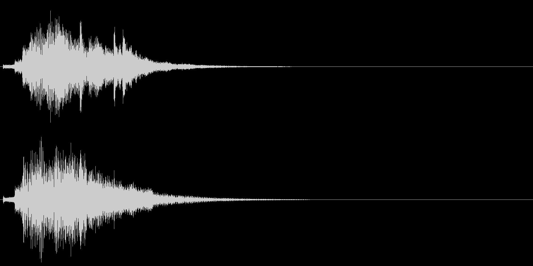 ハープ・上昇_9-1の未再生の波形