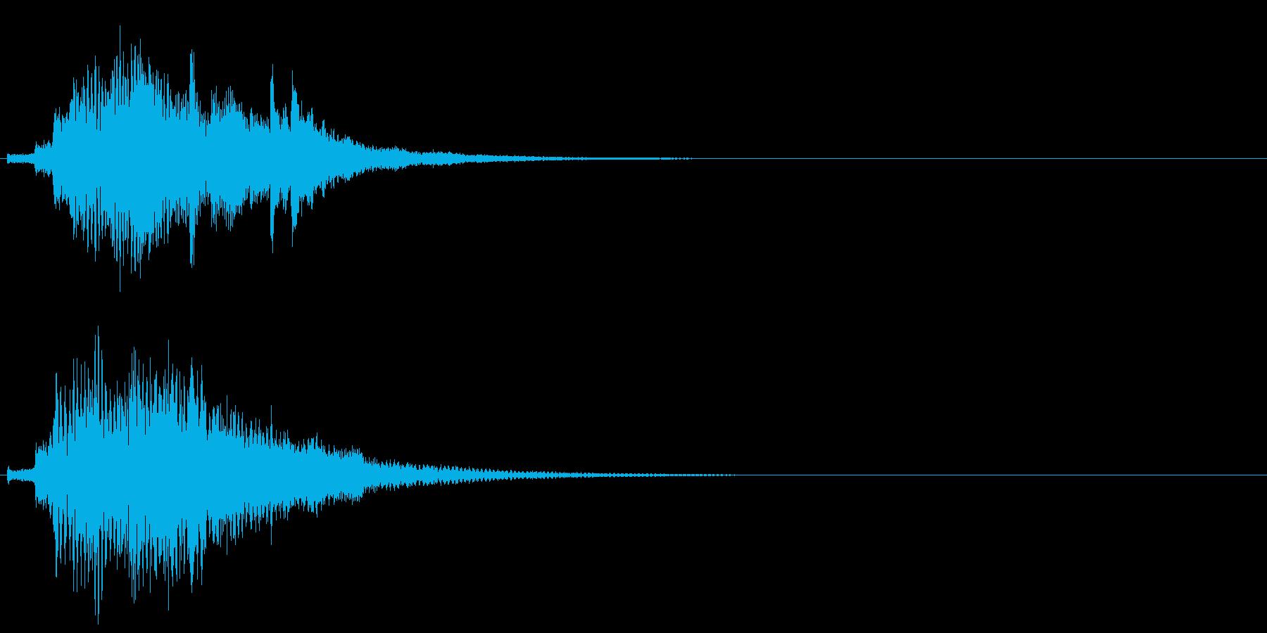 ハープ・上昇_9-1の再生済みの波形